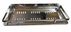 Maximo Stainless Steel 9 Inches Bathroom Multipurpose Heavy Shelf