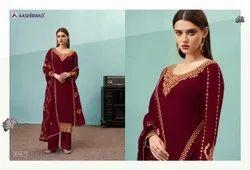 Aashirwad Tulsi Exclusive Designer Heavy Salwar Kameez Collection