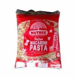 Printed Macaroni Pasta Packaging Plastic Bag, Capacity: 250g