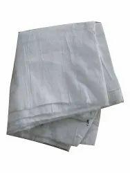 White Cotton Fabric, Plain/Solids