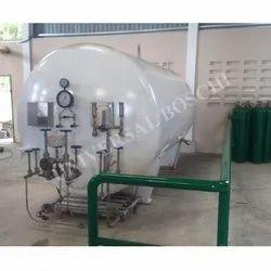 Liquid Oxygen Storage Tanks