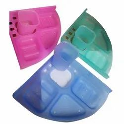 Iconic 5 In 1 Colour Unbreakable Acrylic Bathroom Fittings