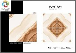 Maroon Normal Printing Orientcool Tile 600x600 Floor Tile, Material: Porcelain, Thickness: 5-10 Mm