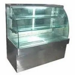 Glass Ambient Display Counter, For Bakery