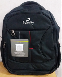 Matti Shoulder Black School Bag