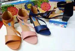 Dailywear Plain Ladies Fancy Sandal Footwear, 37 To 40