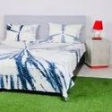 Cotton Tie And Dye Bed Sheet