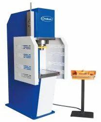 Omkar Make C Frame Hydraulic Power Press Machine (CHPP-20)