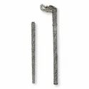 SIlver Plated Brass Antique Walking Stick For Corporate Gift