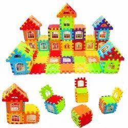 Happy Home Jumbo House Building Blocks