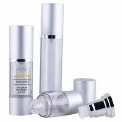 Airless Bottle 15ml 30ml 50ml Plastic Cosmetic Aluminum Airless Lotion Pump