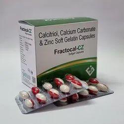 Calcium Carbonate Calcitriol And Zinc Softgel Capsules