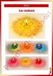 Sai Suman (Reflection Transparent Diya)