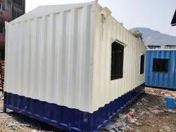 PORTABLE CABIN WITH PANTRY AND TOILET