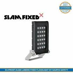 23000 LM Marine Grade Body - Atexor Slam Fixed Floodlight ATEX/IECEx Certified by Saurya