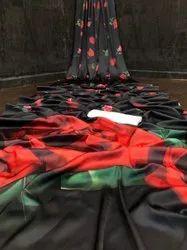 Silk Digital Print Saree
