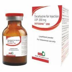 Detizene 200 Mg Dacarbazine For Injection USP, RMPL Pharma Ltd, 1 Vial