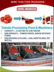 Tomato Processing Plant & Machinery