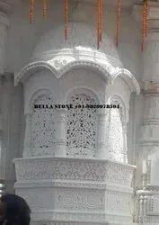 White Marble Jharokha