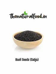 Natural Basil Seed, Packaging Type: Plastic Bag, Packaging Size: 1 Kg Packs