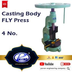 Fly Press Casting Body 4 Number
