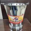 7 Liters Stainless Steel Milk Bucket