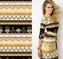 Printed Polyster Dress Material
