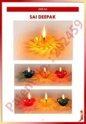 Sai Deepak ( Reflection Transparent Plastic Diya)