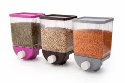 Food Grade Material Plastic PUSH BUTTON STORAGE CONTAINER, Packaging Type: Box, Capacity: 1100 Ml