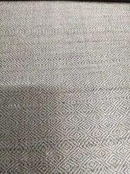 Grey  Dupion Silk Fabric