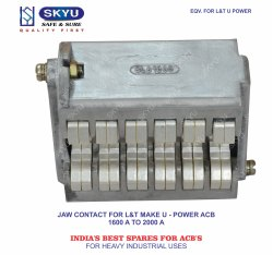 Jaw Contact For L&T U Power ACB