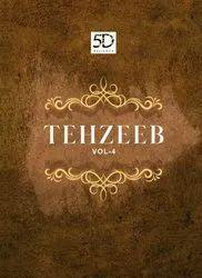 Formal Wear Border 5D Designer Tehzeeb-4 Presents By Saree