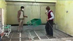 E Rickshaw Painting plant