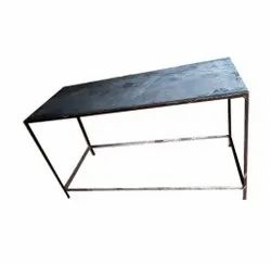 Rectangular Mild Steel Table, For Home,Hotel and Office, Size: 5 X 2 X 3 Feet (l X W X H)
