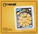 Yorker Gold Marble Cutting Blade 4x9t