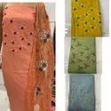 Cotton Silk Embroidery Dress Material