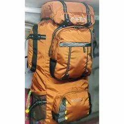 Polyester Orange Trekking Bag