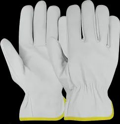 Unisex Canadian Leather Hand Gloves, 12 Inch, Finger Type: Full Fingered