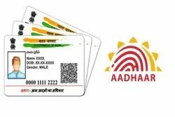 Color Paper Aadhar Card Printing Service, in Pan India, Size: Standard