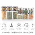 Magnus Modulock Plastic Transparent And BPA Free Container, 460 ml
