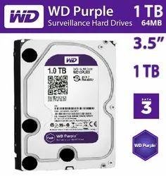 WD Hard Disk 1 TB Purple