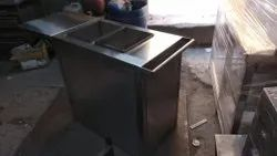 Stainless Steel Bain Marie with Cabinet