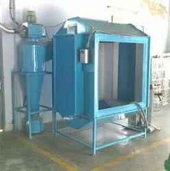 Multicyclone Powder Coating Booth