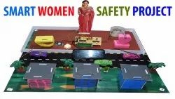Smart Women safety project using GPS