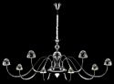 Hanging Crystal Chandeliers Cl8001