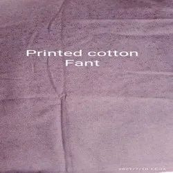 Printed Cotton Fant Waste Cloth