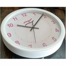 12 Inch White Promotional Wall Clock