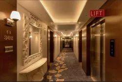 Modern Hotel Interior Designing & Turnkey Solution, 10-25days