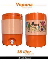 18 Litre Orange Water Camper
