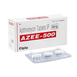 500 Mg Azithromycin Tablet IP